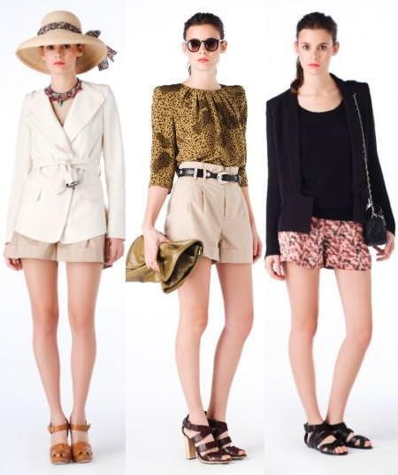 Mini shorts, verano 2010