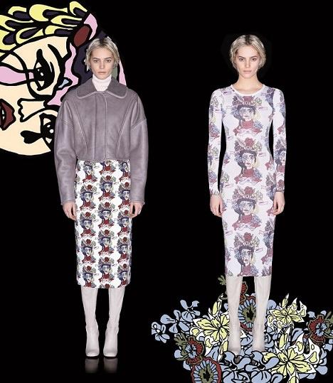 ilustraciones de Bimba y Lola otoño invierno 2014 2015