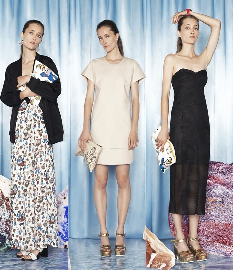 vestidos de bimba y lola primavera verano 2014