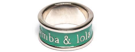 Bimba Lola primavera 2012, sus anillos