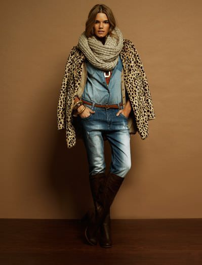 Blanco lookbook del invierno