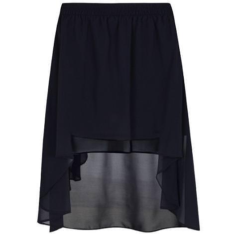 Falda asimétrica de Blanco