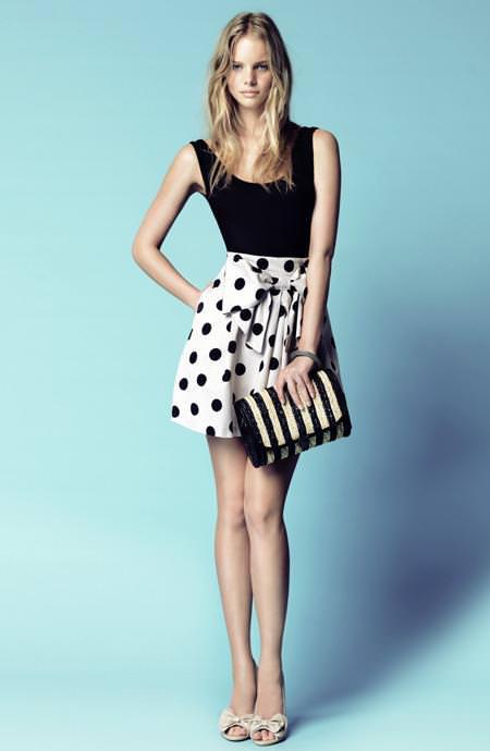 Blanco verano 2010: vestidos cortos