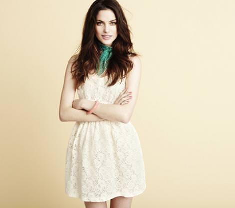 Blanco primavera verano 2011: vestidos