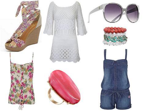 Blanco ropa primavera verano 2011
