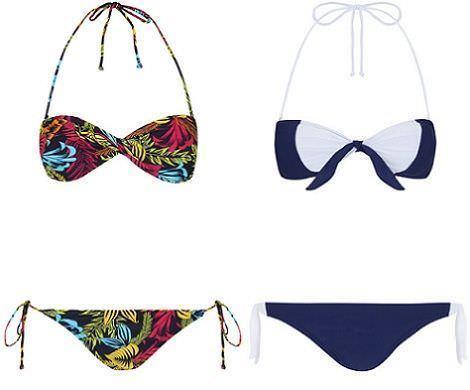 bikinis de blanco primavera 2012