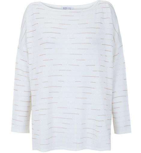 blanco primavera jersey tricot