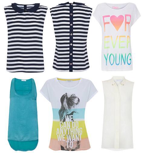 Blanco y su ropa nueva de moda