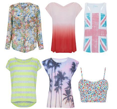 Blanco ropa verano 2012