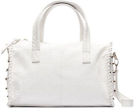 bolsos de blanco primavera 2012 tachuelas