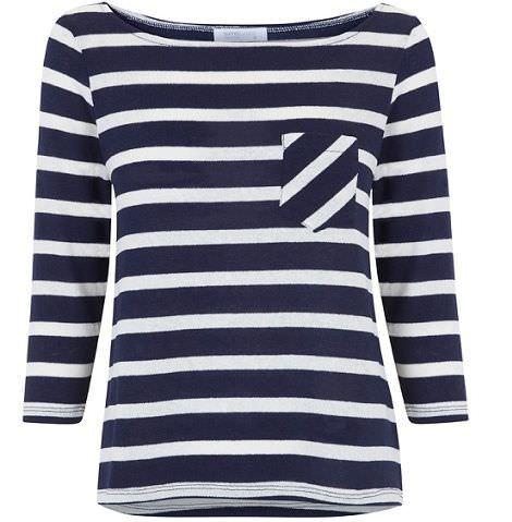 blanco primavera 2012 camiseta rayas