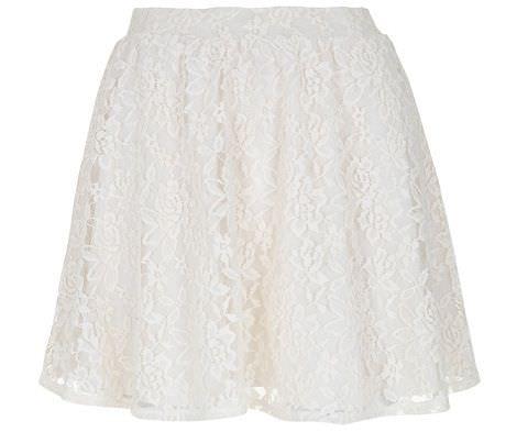 blanco primavera 2012 falda encaje