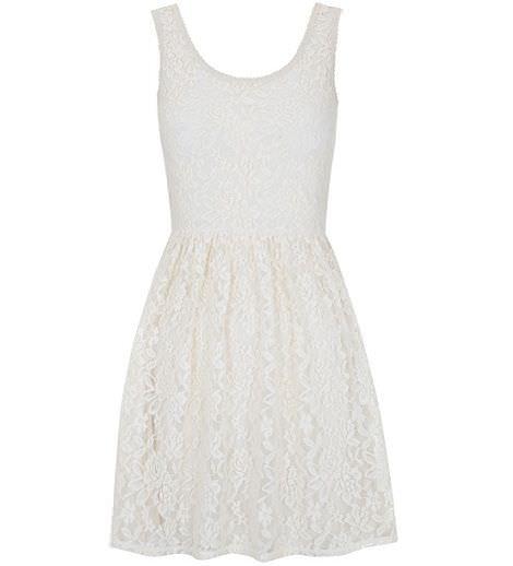 blanco primavera 2012 vestido encaje
