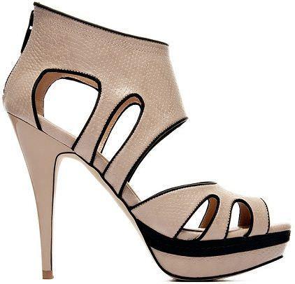 blanco primavera 2012 zapatos tiras