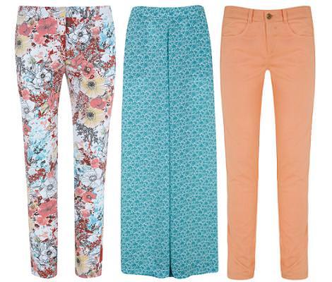 Ropa de Blanco primavera verano 2012: pantalones