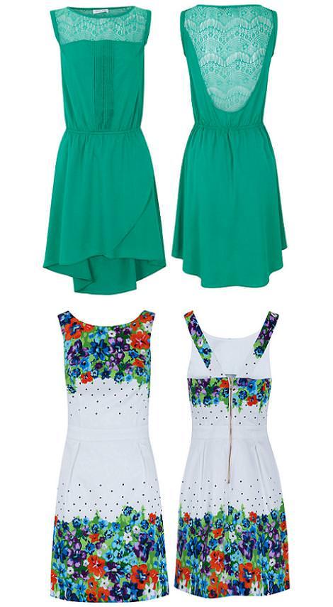 Ropa de Blanco primavera verano 2012: vestidos