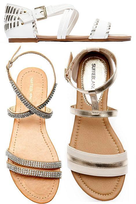 Sandalias del verano 2012 de Blanco