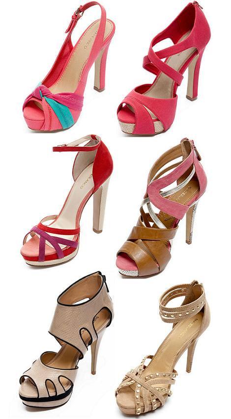 Zapatos Blanco primavera 2012 sandalias