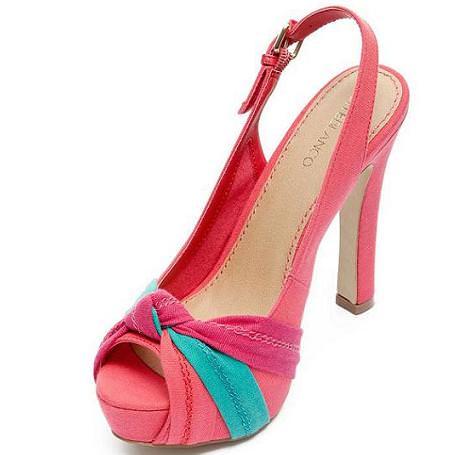Zapatos Blanco primavera 2012