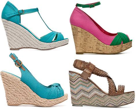 Zapatos de Blanco primavera verano 2012