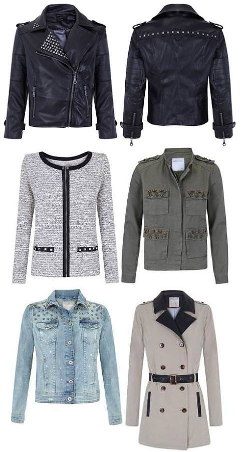 Blanco otoño invierno 2012 2013: chaquetas y abrigos