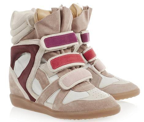Blanco clona las zapatillas con cuña de Isabel Marant