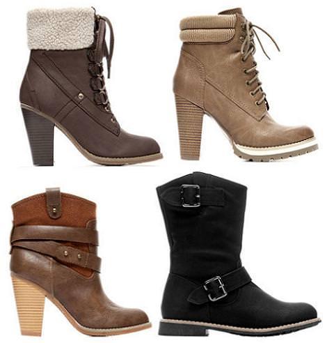 Zapatos Blanco otoño invierno 2012 2013