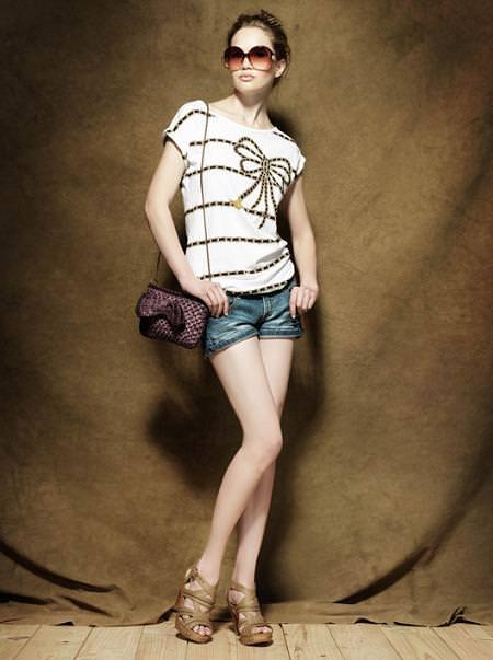 Zara primavera 2010: Casual Lookbook Junio