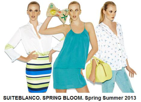 Blanco primavera verano 2013 SPRING BLOOM