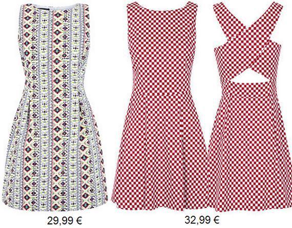 Blanco vestidos de fiesta primavera verano 2013