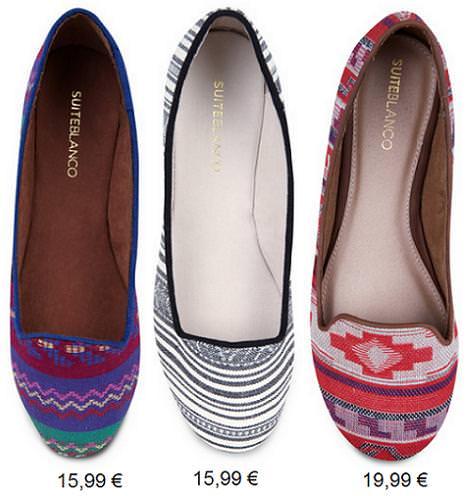 Zapatos de Blanco primavera verano 2013