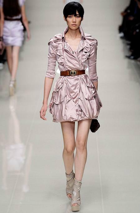 Burberry Prorsum, moda primavera verano 2010