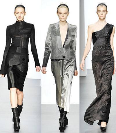 Calvin Klein, moda otoño invierno 2009 2010