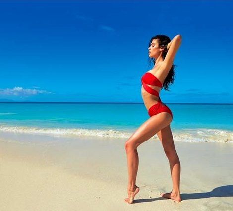 catálogo de bikinis y bañadores de calzedonia primavera verano 2014