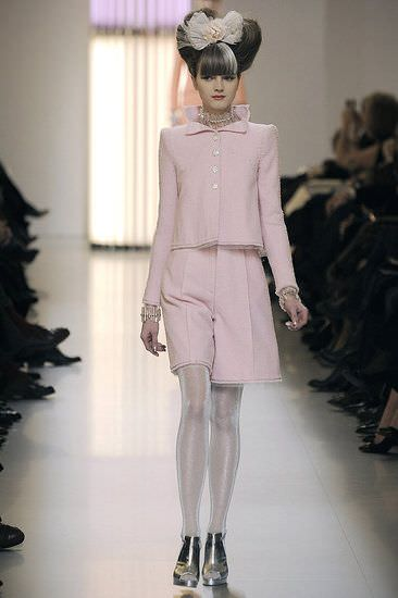 Chanel, haute couture spring summer 2010