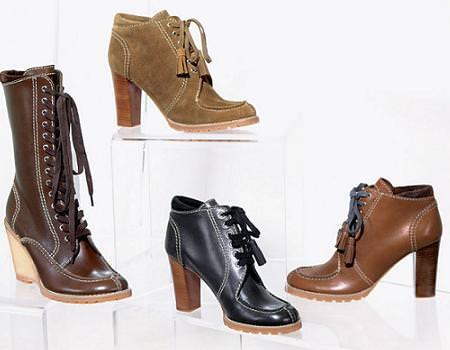 Tendencias moda otoño 2010: Zapatos con cordones