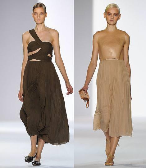Chloe moda primavera verano 2011