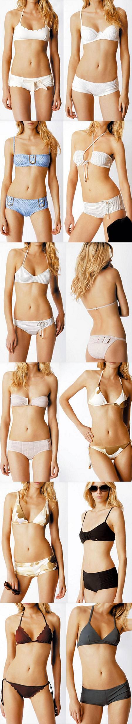 bikinis de Chloé, colección primavera verano 2009