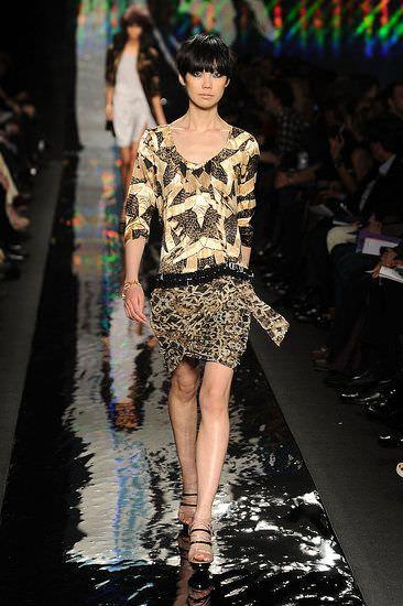 Diane Von Furstenberg en la New York Fashion Week