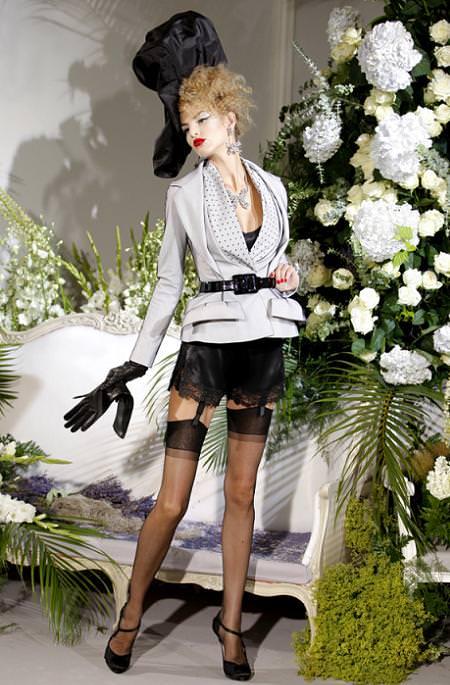 Christian Dior Alta Costura Otoño 2009
