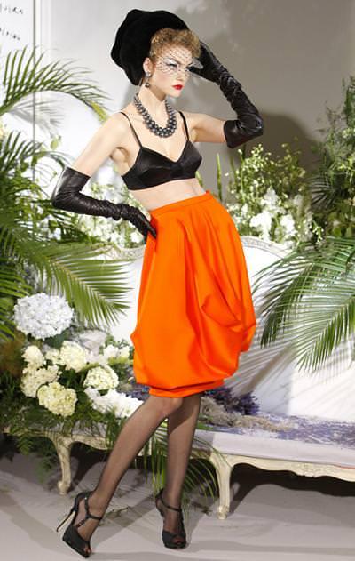 Christian Dior, alta costura otoño 2009