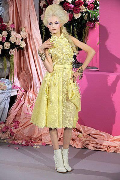 Christian Dior, alta costura primavera verano 2010