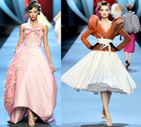 Christian Dior Alta Costura primavera verano 2011