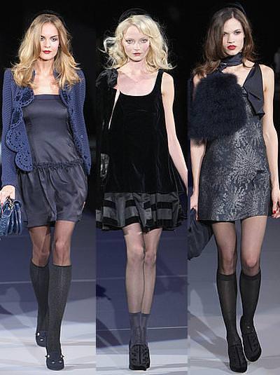 Emporio Armani, moda otoño invierno 2009 2010