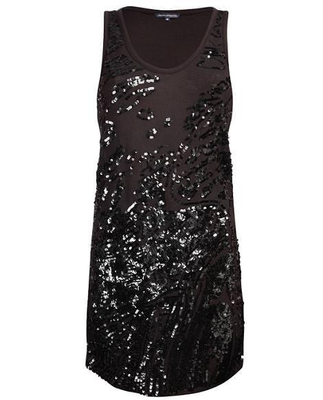 Vestidos de fiesta: Lentejuelas (otoño invierno 2010 2011)