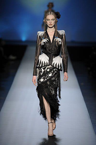 Jean Paul Gaultier, haute couture spring summer 2010