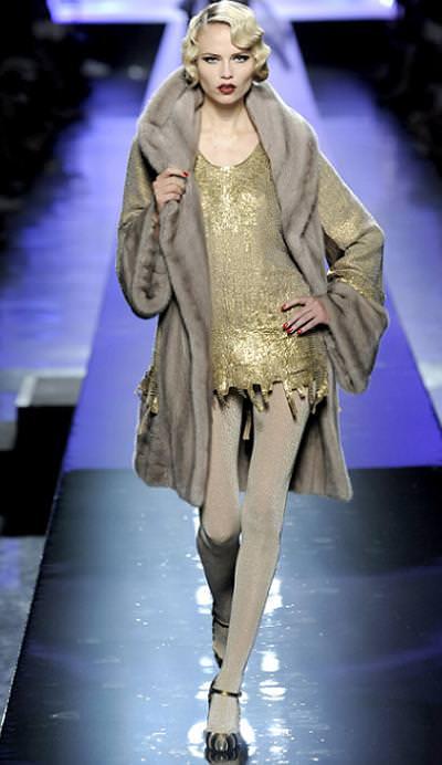 Jean Paul Gaultier, moda otoño invierno 2009 2010, alta costura