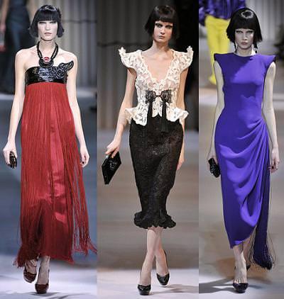 special sales hot sale latest discount Giorgio Armani, moda primavera verano 2009 | demujer moda ...