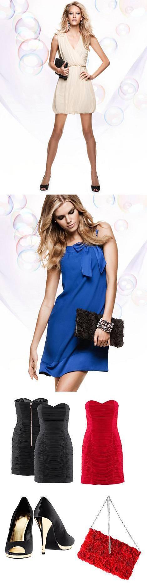 Vestidos de fiesta de H&M (otoño invierno 2010 2011)