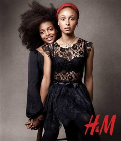 Ropa y vestidos de fiesta de H&M: Nochevieja y Navidad 2010